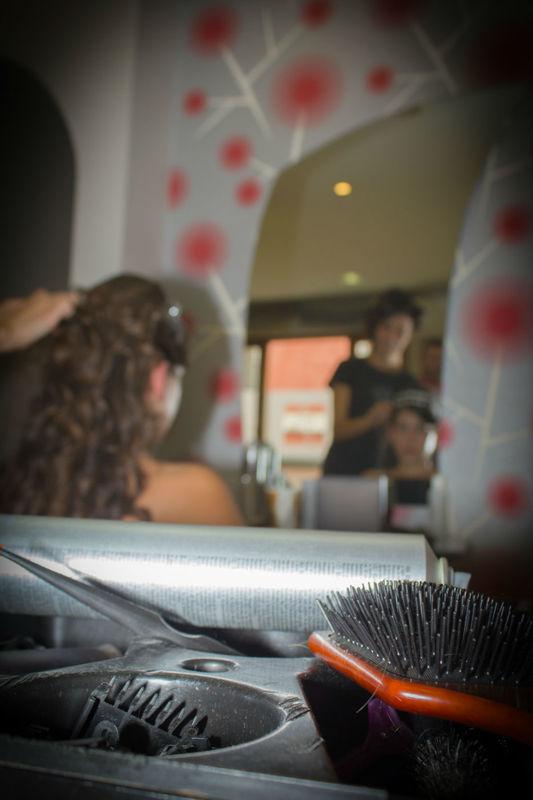 En la peluqueria