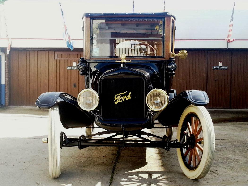 Ford T Center Door