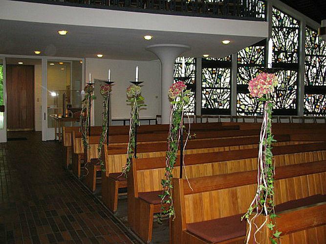 Beispiel: Kirchendekoration, Foto: Magnolia.