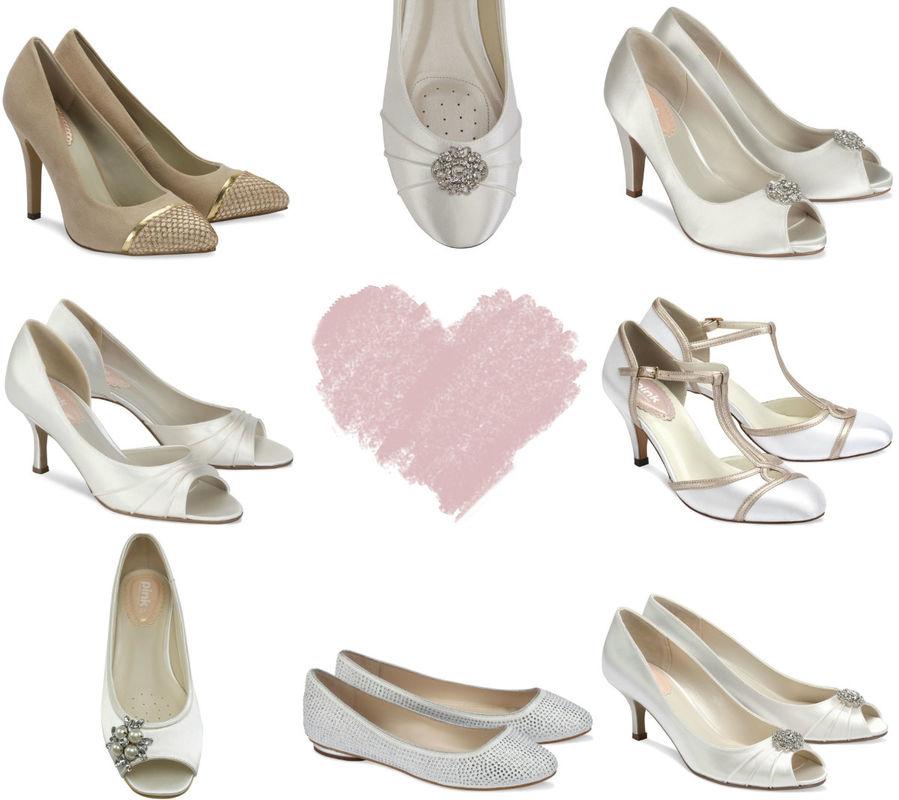 Buty ślubne marki Pink by Paradox London