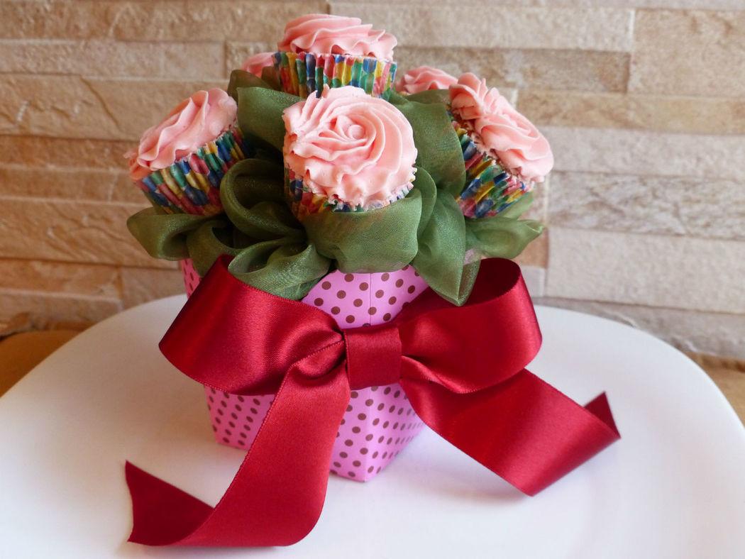 Buque de cupcakes