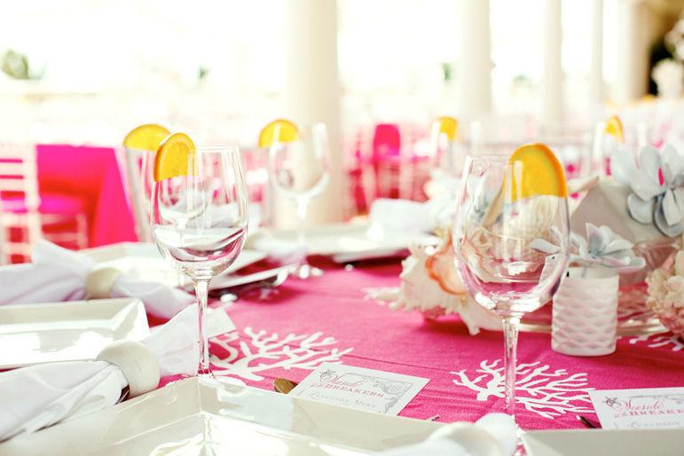 Decoración Mesa Banquete Nupcial