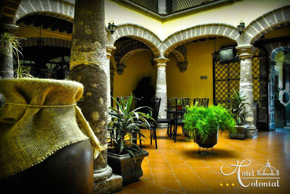 Hotel Colonial en Morelia Michoacán