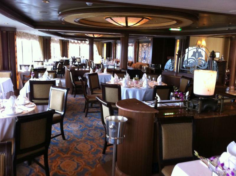 Beispiel: Restaurant, Foto: Cunard Line.