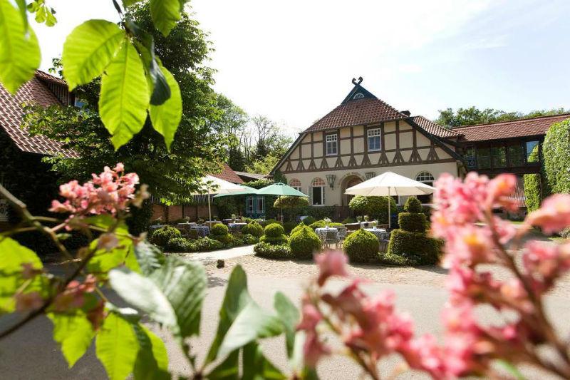 Beispiel: Garten mit Terrasse, Foto: Hotel Zur Kloster-Mühle.
