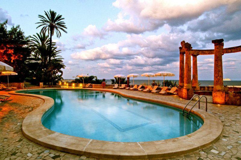 La piscina - Grand Hotel Villa Igiea