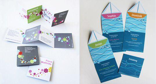 Beispiel: Einladungskarten, Foto: StarCards.