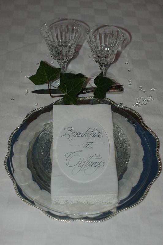 Nom de table Plexiglas  15cm/10cm