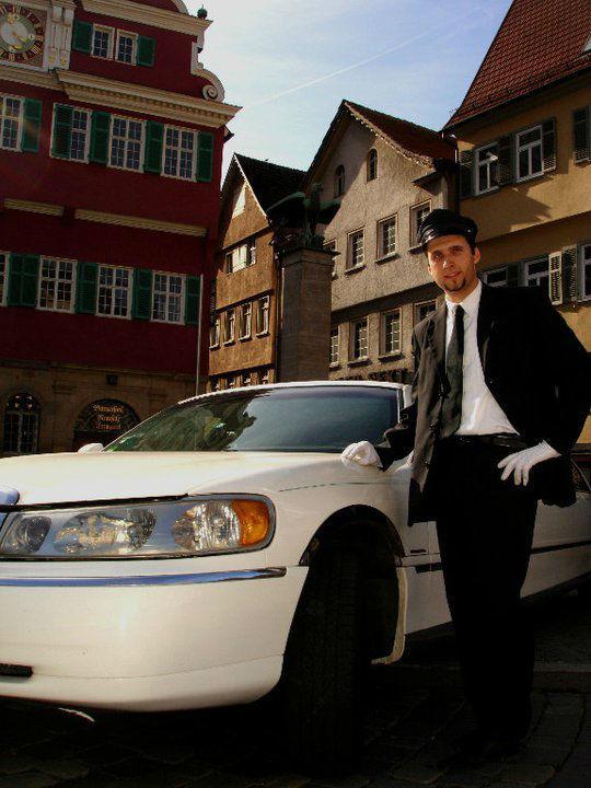 Beispiel: Chauffeur-Service, Foto: Funcars Süd.