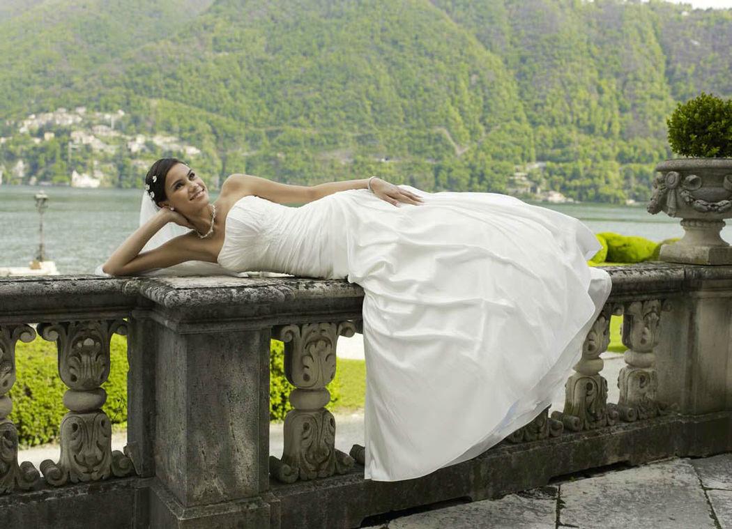 Beispiel: Ihr perfektes Outfit, Foto: Magy's Brautmode.