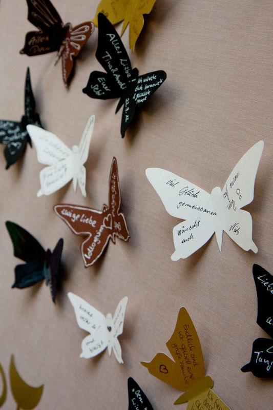 Beispiel: Kreative Ideen, Foto: Reinweiss Hochzeiten.