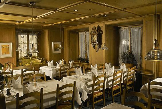 Beispiel: Gourmetstube, Foto: Landgasthof Adler Grüningen.