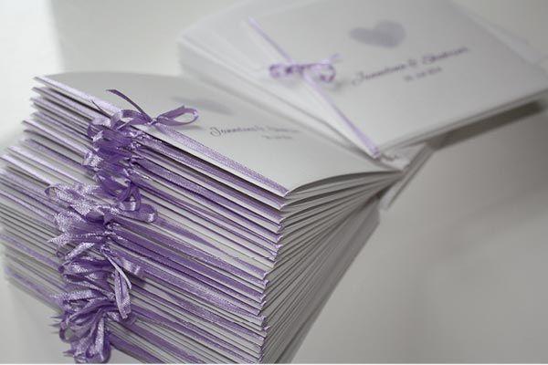 Beispiel: Komplettes Hochzeitskarten-Paket, Foto: Die Kartenfrau.