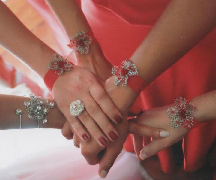 Pulseiras de Noiva e de Damas de Honor