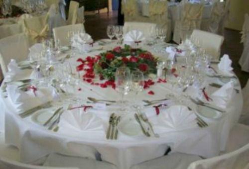 Beispiel: Tischdekoration, Foto: See & Park Hotel Feldbach.