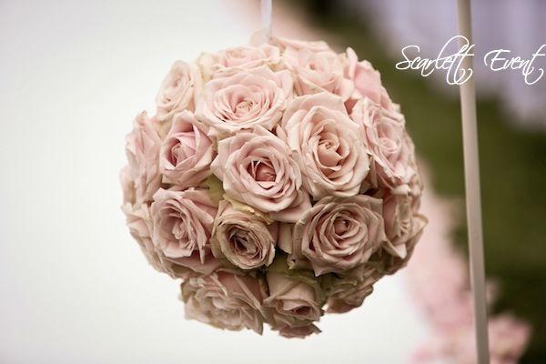 Boules de fleurs cérémonie