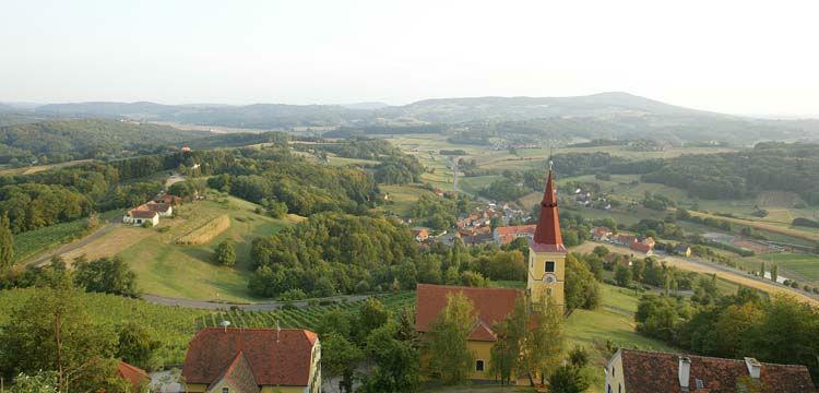 Beispiel: Aussicht, Foto: Schloss Kapfenstein.
