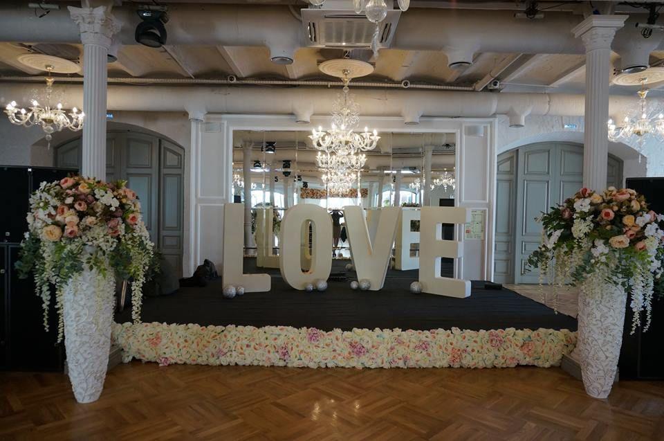 Свадьба в зале «Лофт»