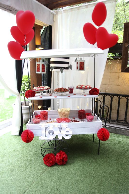 Candy bar corazones