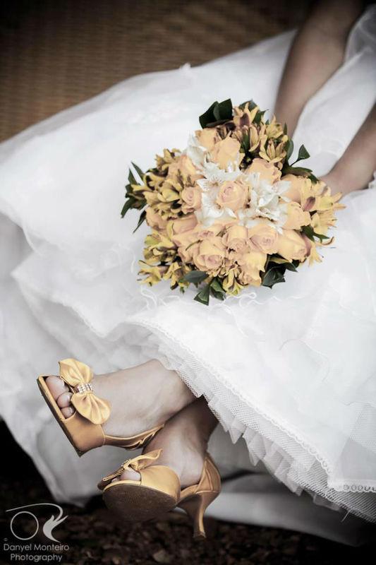 Marianna Machado Sapatos de Noivas. Foto: Danyel Monteiro.