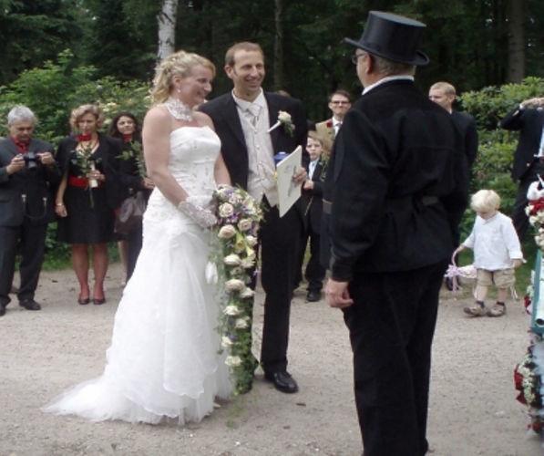 Beispiel: Individuelle Hochzeitszeremonie, Foto: Sabine Zimmermann.
