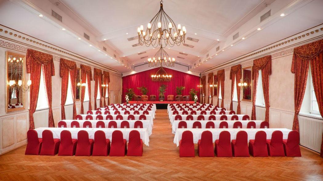 Beispiel: Festsaal, Foto: Wolkenburg.