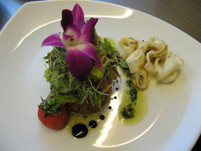 Beispiel: Kreativer Serviervorschlag, Foto: Restaurant Villa.