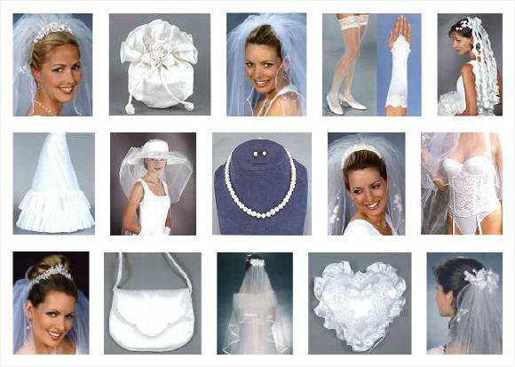 Beispiel: Braut-Accessoires, Foto: Karmen's Brautmoden.