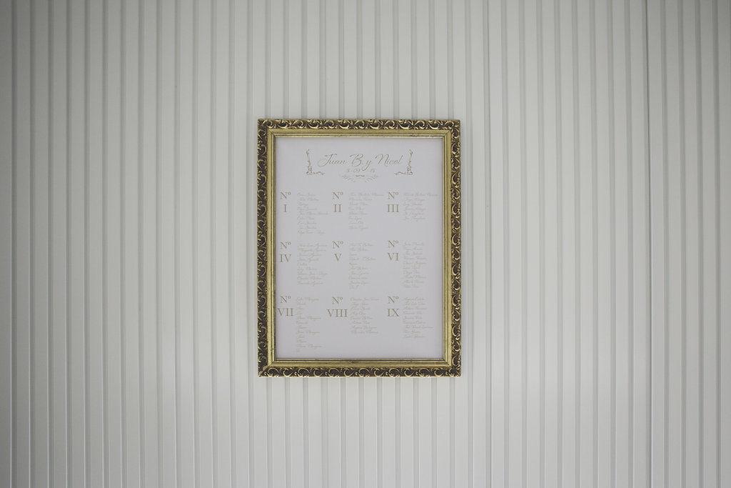 Seating plan boda romana