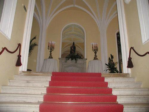 Beispiel: Eingang, Foto: Schloss Wolfsberg.