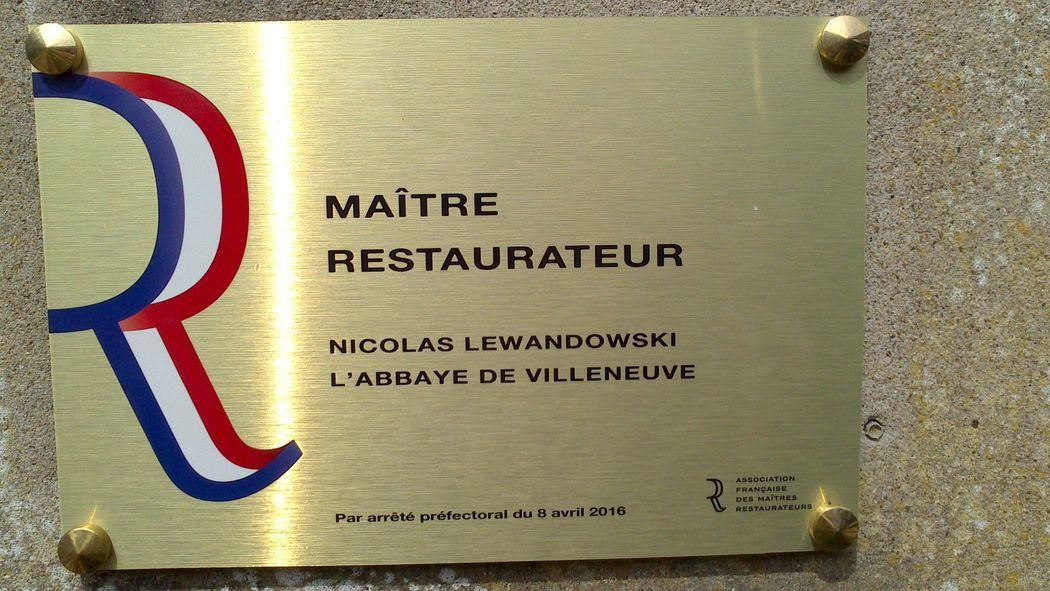 Titre Maître Restaurateur
