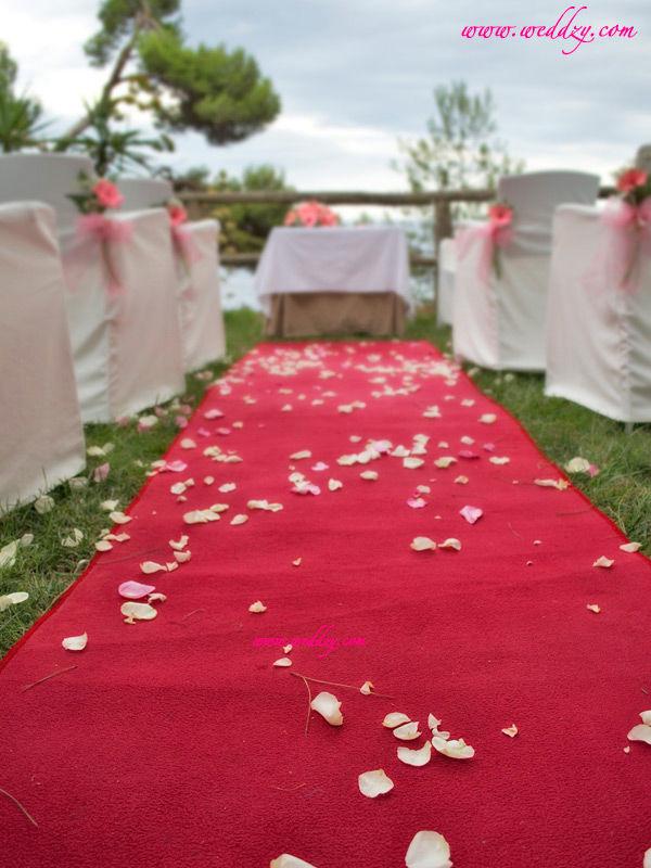 Cérémonie de mariage en Espagne