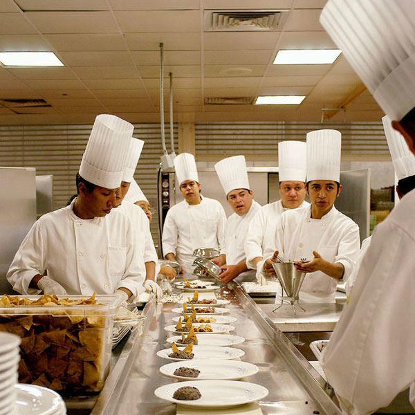 El menú no es problema para nuestro equipo de chefs.