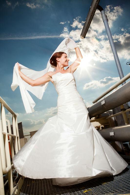 Beispiel: Portrait der Braut, Foto: Day of your life.