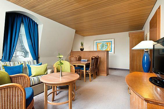Beispiel: Familienzimmer, Foto: Travel Charme Strandhotel Bansin.