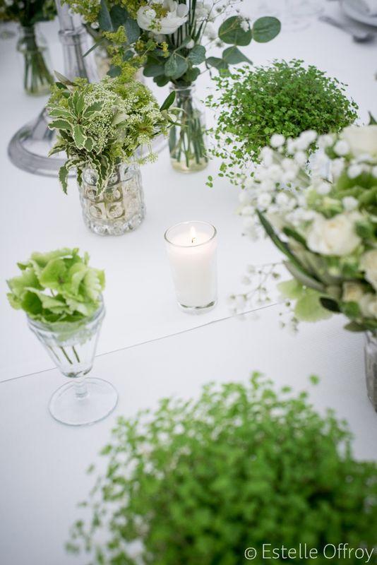 Décoration florale @ 1001 bulles