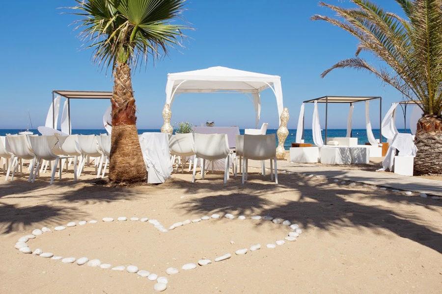 La playa espacio imprescindible para bodas irrepetibles.