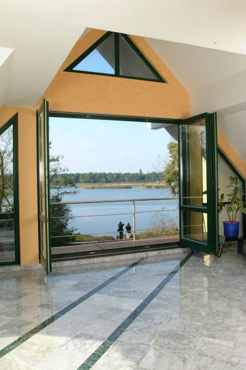 Beispiel: Sunsetlounge - Ausblick, Foto: Villa am Habermannsee.