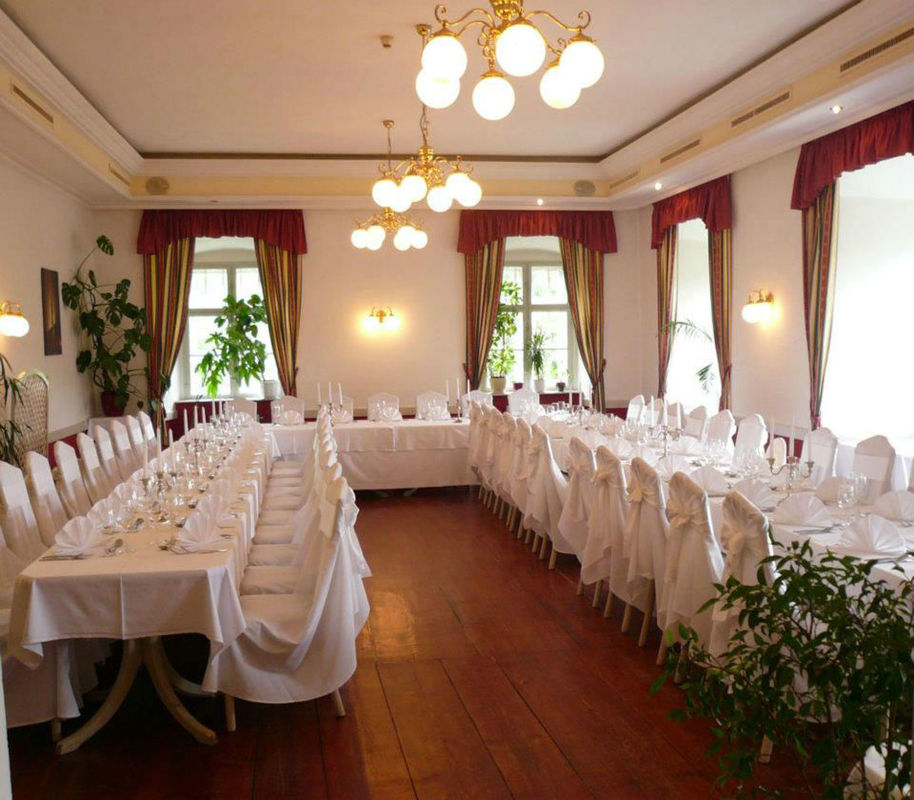 Beispiel: Veranstaltungssaal, Foto: Schloss Gloggnitz.