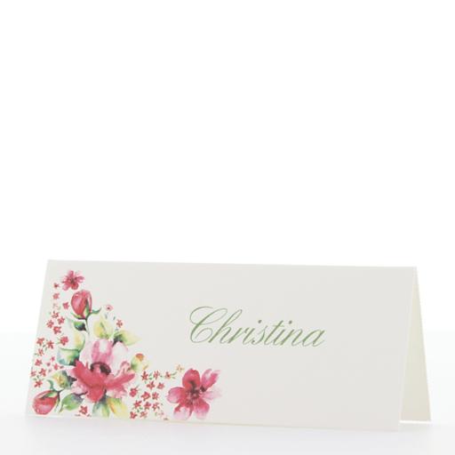 Beispiel: Tischkarte, Foto: Stangl-Druck - Belarto.