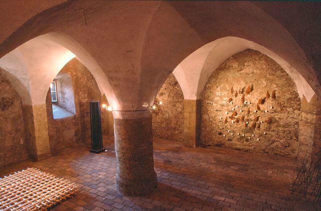 Beispiel: Gewölbesaal, Foto: Alte Burg Gmünd.