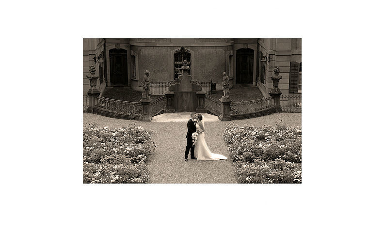 Beispiel: Wunderschöne Hochzeitsfotos, Foto: dfoto.