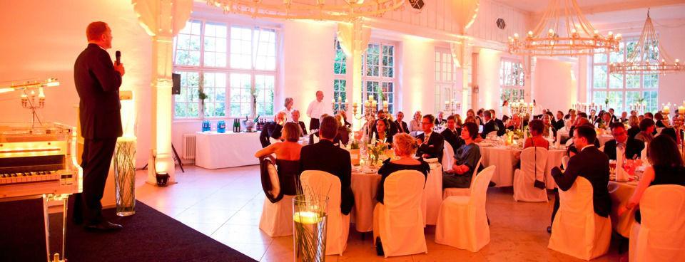 Beispiel: Veranstaltung in der Villa am Jachthafen, Foto: Villa am Jachthafen.