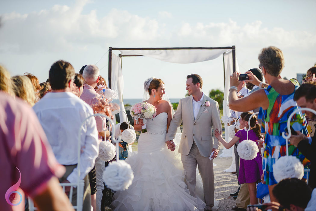 The Ocean Photo Weddings, Mayan Ruins Wedding Occidental at Xcaret Destination Riviera Maya Photographer