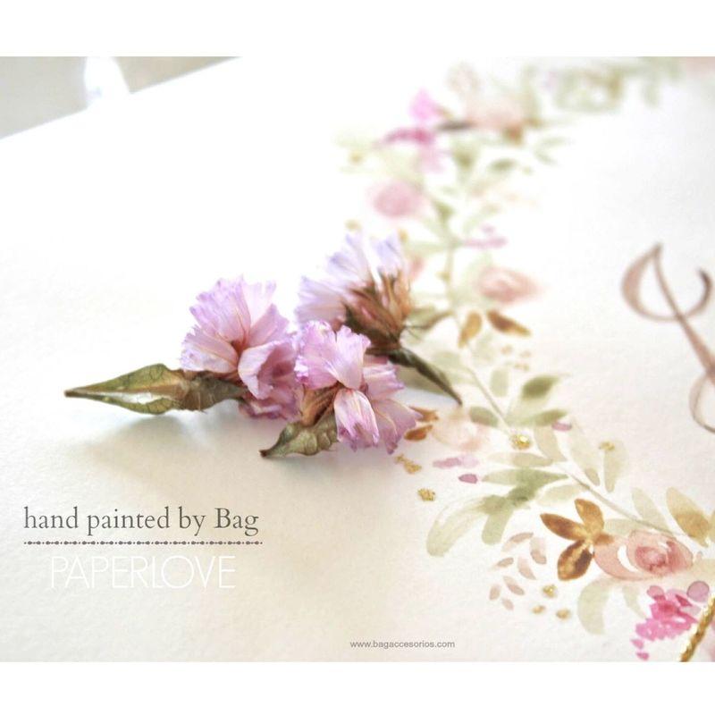 Papeleria personalizada-handpainted branding para eventos