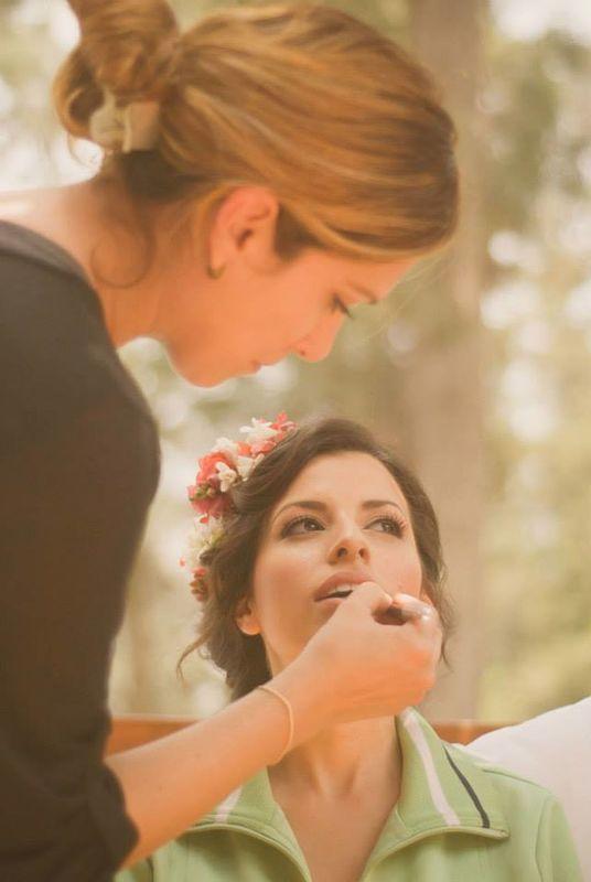 Maquillaje para novia en la cantuta