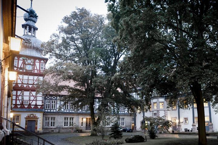 Beispiel: Schlosshof, Foto: Englischer Hof.