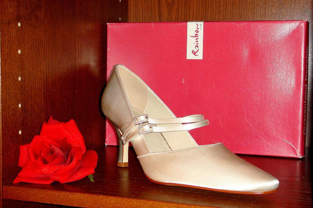 Beispiel: Schuhe für Bräute, Foto: Der Brautladen Schuhe.