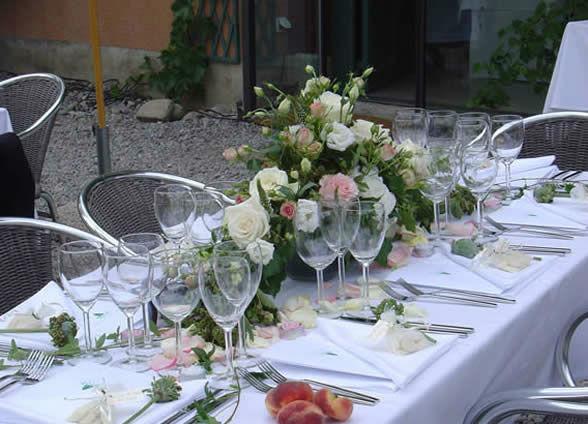 Beispiel: Hochzeitscatering, Foto: Urs Hauri.