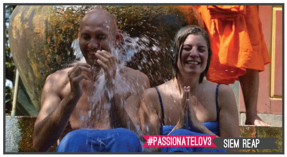 il battesimo dell'acqua è una delle esperienze più incredibili che potrete sperimentare con i nostri viaggi